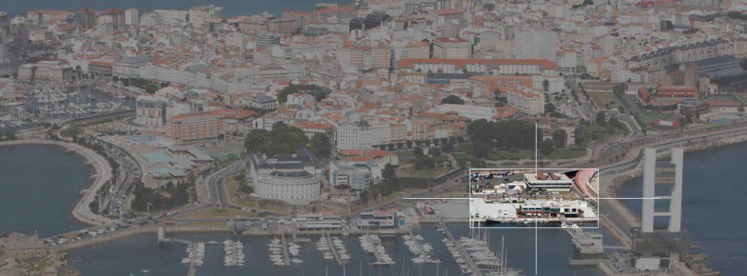 Parking Marina Coruña - Situación